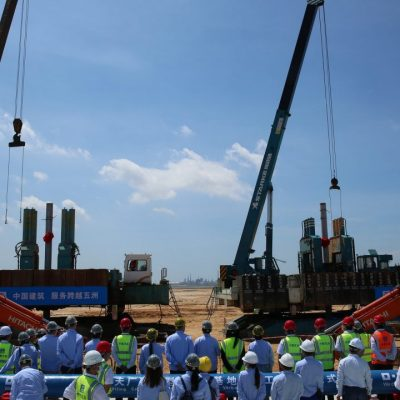 BASF, Zhanjiang, Guangdong'daki Akıllı Verbund Projesinin İlk Adımını Attı