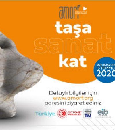 AMORF Doğal Taş Tasarım ve Proje Yarışması'na 13 Temmuz'a Kadar Başvuru Yapılabilir