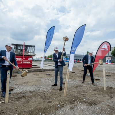 Axalta Breaks Ground on New State-of-the Art Refinish Facility in the Netherlands