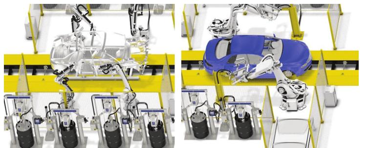 Elektrikli Pompalarla Mastik ve Yapıştırıcı Uygulamaları