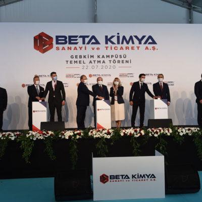 BETA Kimya'dan Yeni Üretim Tesisi