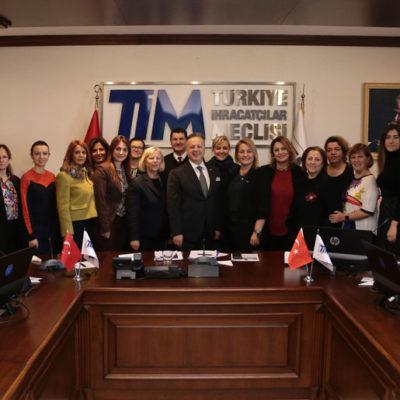 Türkiye İhracatçılar Meclisi (TİM), Kadın Konseyi Çalışmalarına Hız Veriyor