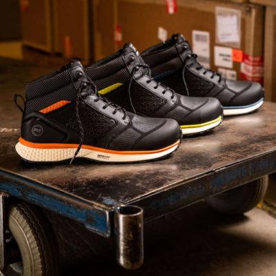 BASF Poliüretan ile Timberland PRO Reaxion Güvenlik Ayakkabısı Güç Kazanıyor