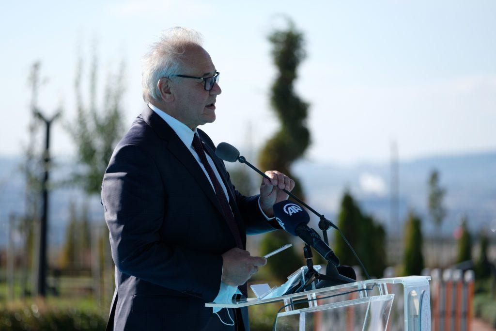 Kimya İhtisas Organize Sanayi Bölgesi Yönetim Kurulu Başkanı Vefa İbrahim Aracı
