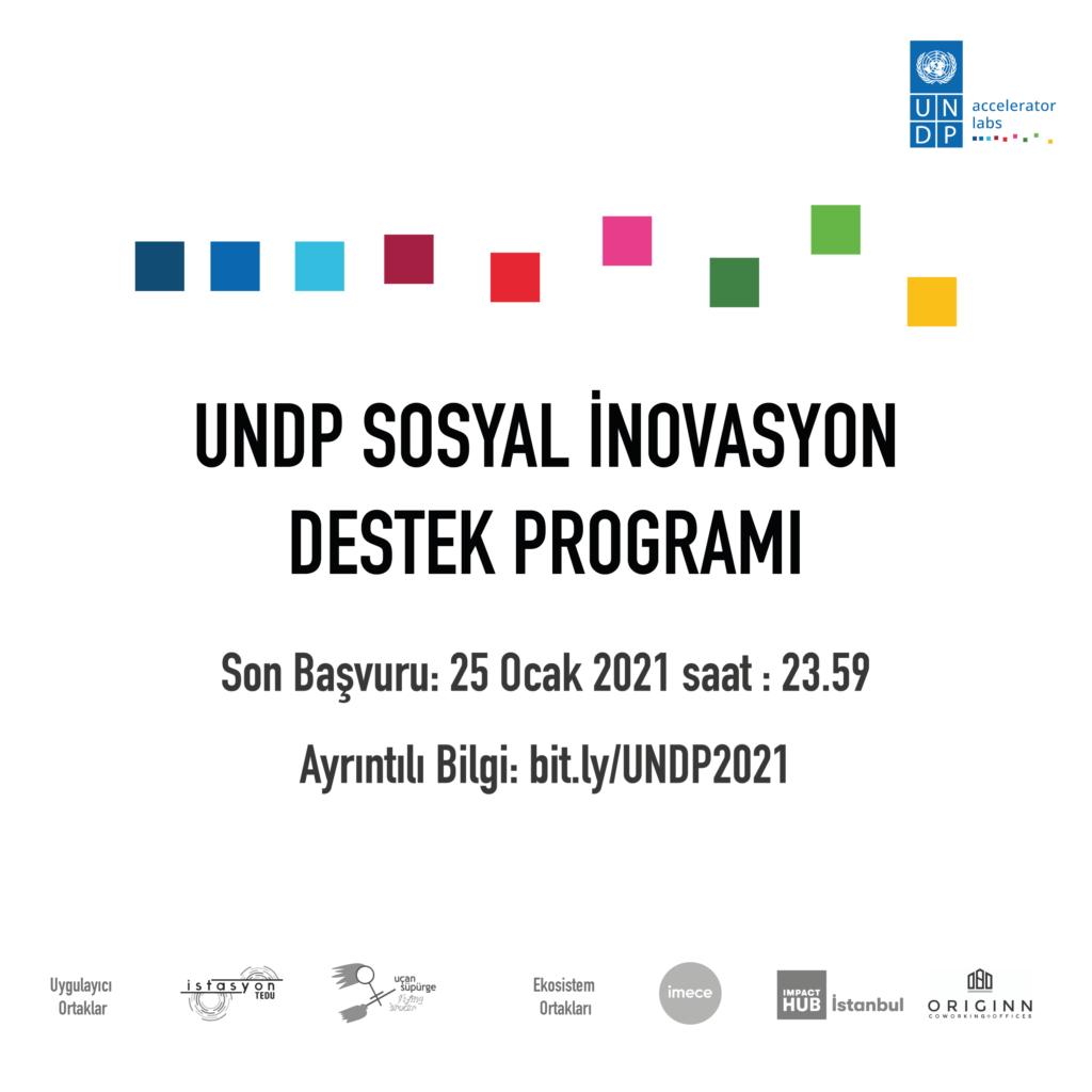undp sosyal inovasyon destek programı