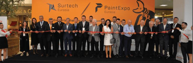 PaintExpo Eurasia 2019 ve Surtech Eurasia 2019'da Yüzey İşlem ve Kaplama Teknolojileri Buluştu