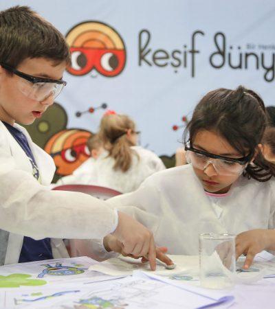 Keşif Dünyası Projesi, Çocukları Bilime Davet Ediyor