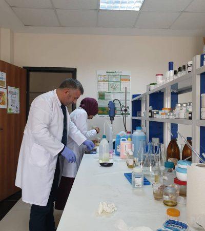 Iğdır Üniversitesi Dezenfektan Üretimine Başladı