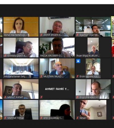 Kimya Sektörü Video Konferans Yöntemiyle Bir Araya Geldi