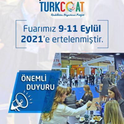 paintistanbul & Turkcoat Fuarı Ertelendi