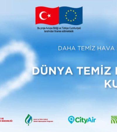 """Türkiye'de İlk Kez """"Mavi Bir Gökyüzü için Temiz Hava Günü"""" Kutlandı"""
