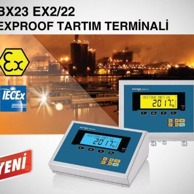 Baykon BX23 Ex2/22 Exproof Tartım Terminali