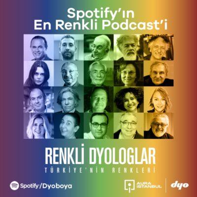 """DYO ve AURA İstanbul İş Birliği ile """"Renkli DYOloglar"""" Söyleşileri Spotify'da"""