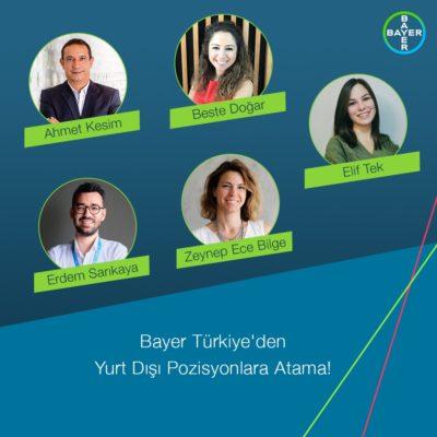 Bayer, Uluslararası Pozisyonlarda Türk Yönetici Sayısını Artıyor