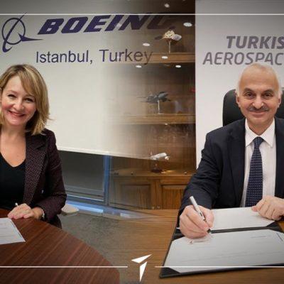 TUSAŞ ve Boeing Termoplastik Kompozit Üretiminde Teknoloji İş Birliği Gerçekleştirdi