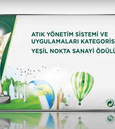 """Bayer Gebze Fabrikası, """"Yeşil Nokta Sanayi Ödülü"""" Aldı"""