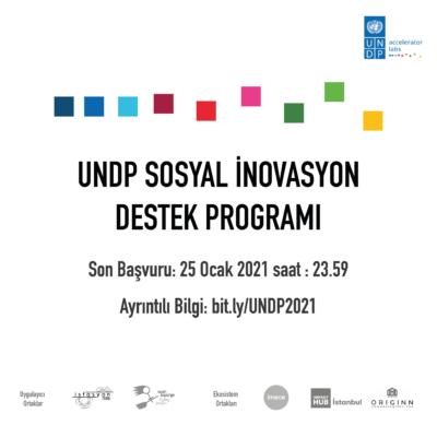 UNDP Sosyal İnovasyon Programı'na Başvurular Devam Ediyor