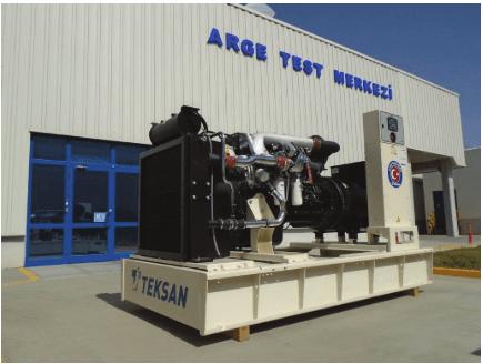 Teksan Yerli Motorlu Jeneratörlerini 3 Kıtaya İhraç Ediyor