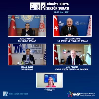 2021 Türkiye Kimya Sektör Şurası'nın İlk Günü Tamamlandı