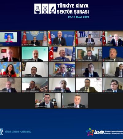 """""""2021 Türkiye Kimya Sektör Şurası"""" Tamamlandı"""