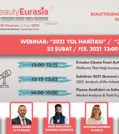 BeautyEurasia Sanal Buluşmalar Serisi ile Katılımcılarına İhracat Fırsatı Sunuyor
