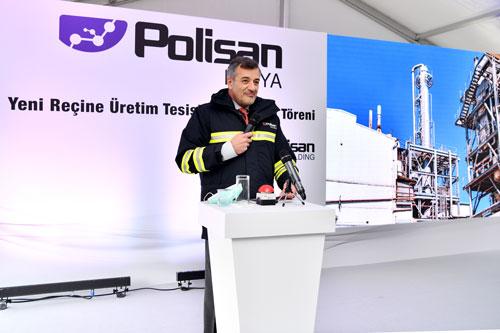 Polisan Kimya, Yeni Reçine Üretim Tesisini Açıyor