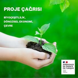 Fransa Büyükelçiliği Çevre Konulu Proje Çağrısını Duyurdu
