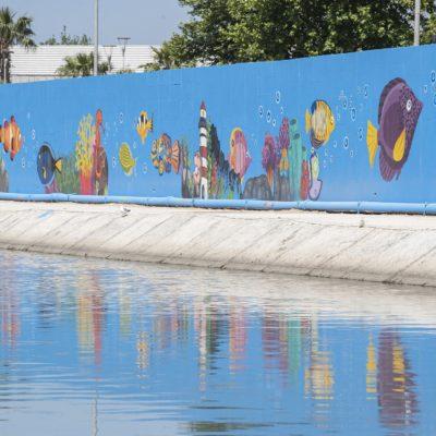 DYO, Mistral İzmir ve Ege Perla'nın Çevresini Renklendirdi