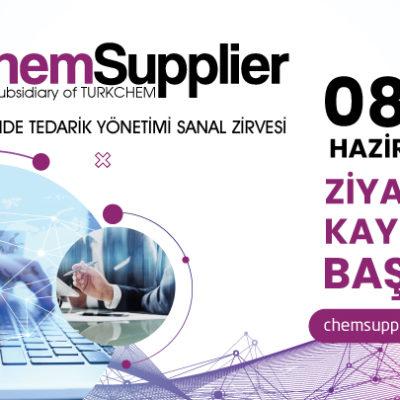 ChemSupplier Kimya Sektöründe Tedarik Yönetimi Sanal Zirvesi için Kayıtlar Başladı!