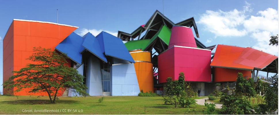 Biomuseum – Panama Biyoçeşitlilik Müzesi