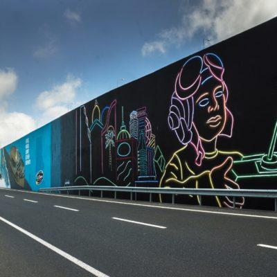 Filli Boya Desteğiyle İstanbul Havalimanı'nda Grafiti Çalışması Yapıldı