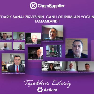 """ChemSupplier """"Kimya Sektöründe Tedarik Yönetimi Sanal Zirvesi"""" Sektörün Yoğun İlgisiyle Son Buldu"""