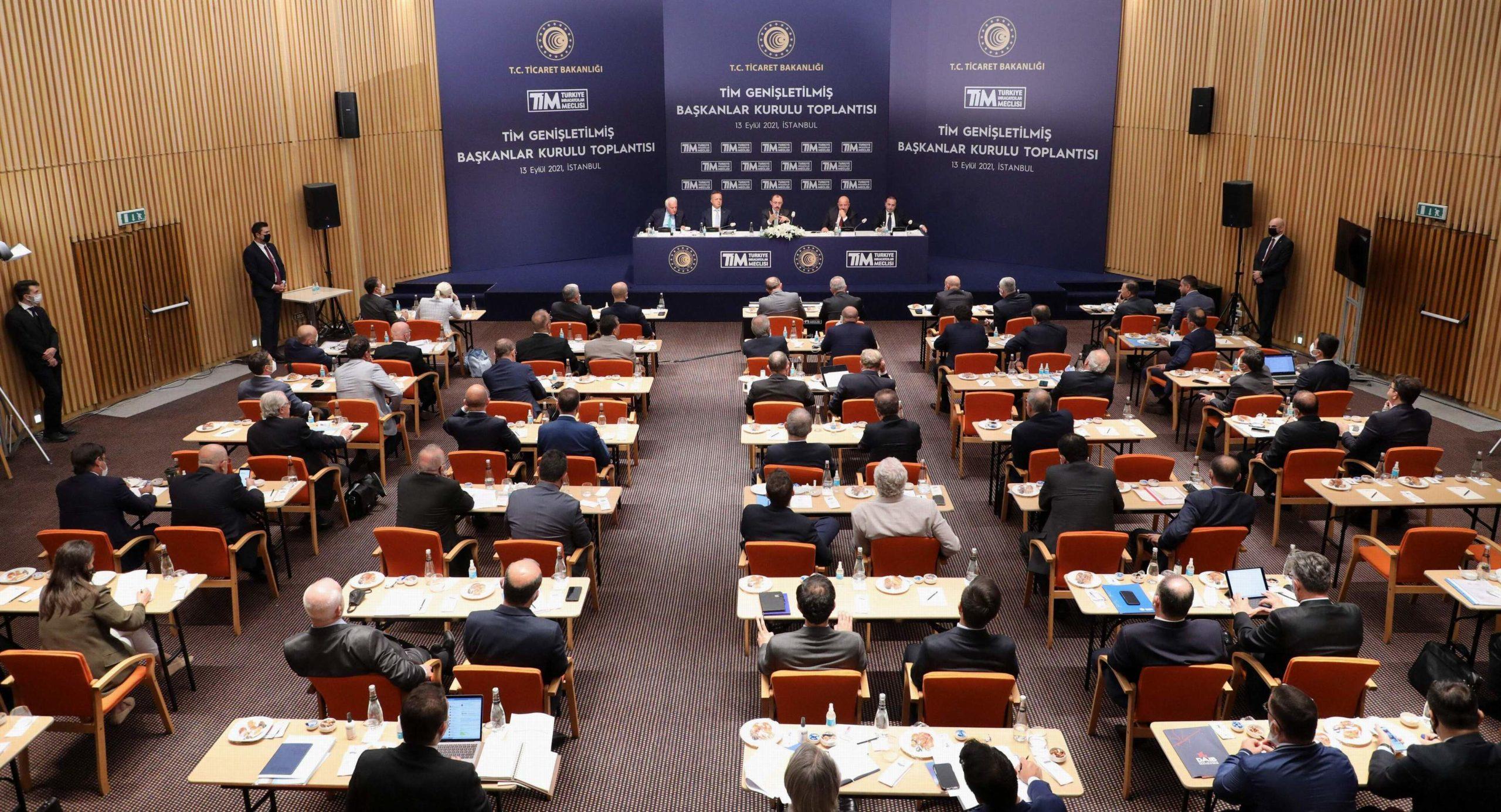 TİM Genişletilmiş Başkanlar Kurulu Toplantısı